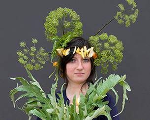 Atelier photographique<br/>Portraits aux légumes<br/>